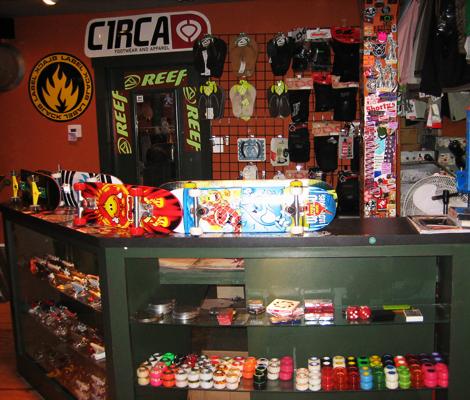 Fairfax Surf Shop skate