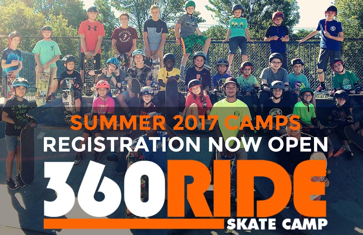 Summer 2017 Skate Camp