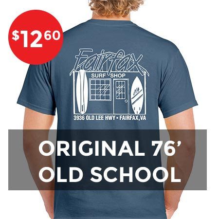 Indigo old school shirt