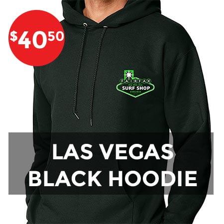 Las Vegas black hoodie