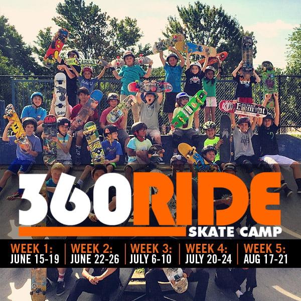 SUMMER 2020 SKATE CAMPS