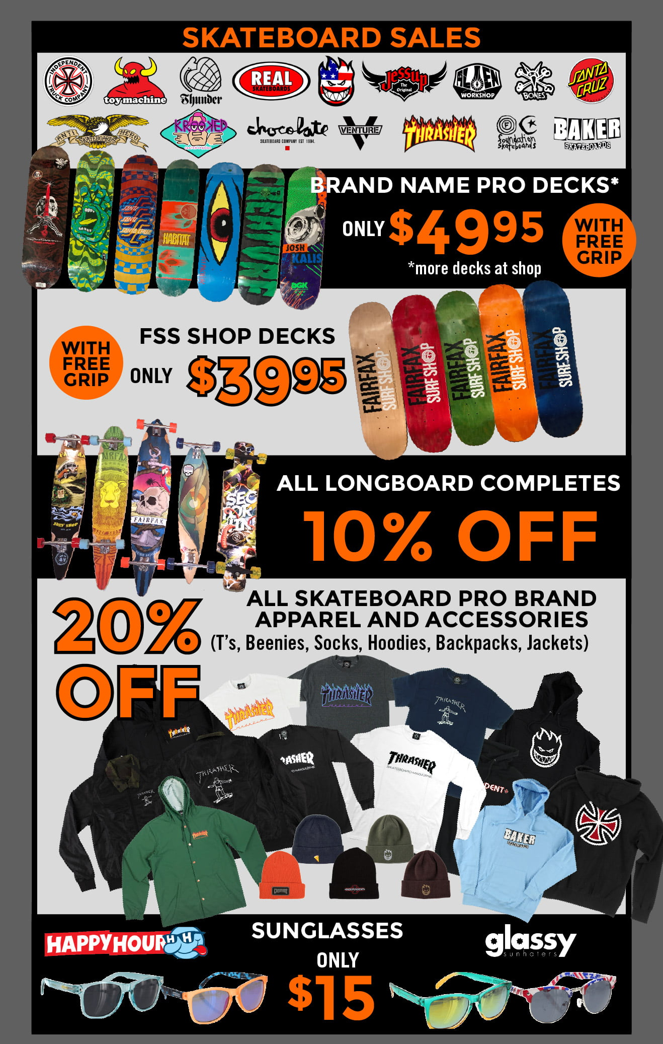 Fairfax Surf Shop Black Friday