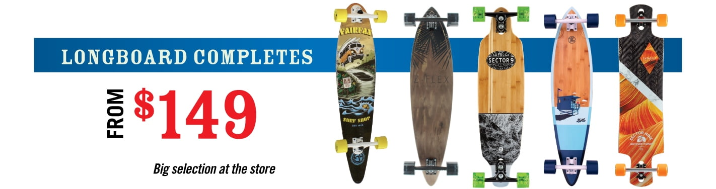 Longboard Completes from $149