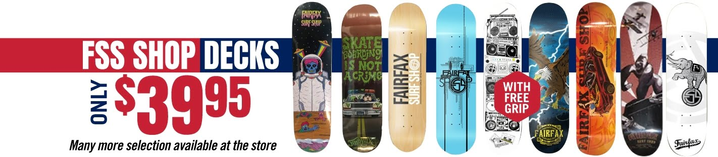 FSS shop decks only $39.95