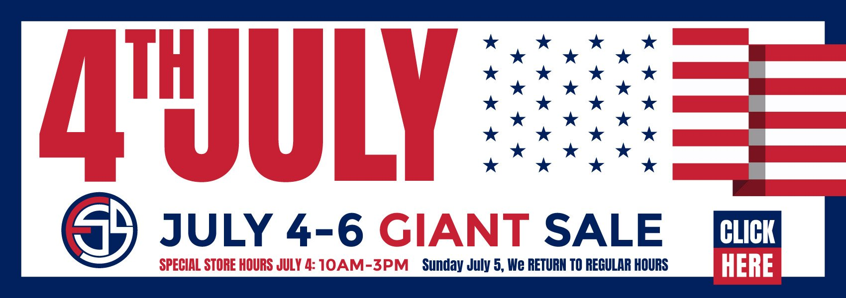 4th July Giant Sale