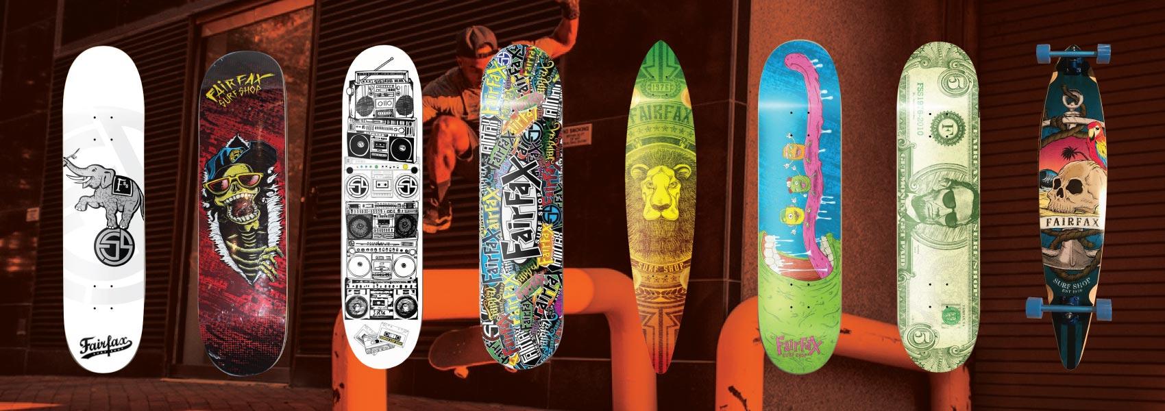 Fairfax Surf Shop Skateboards