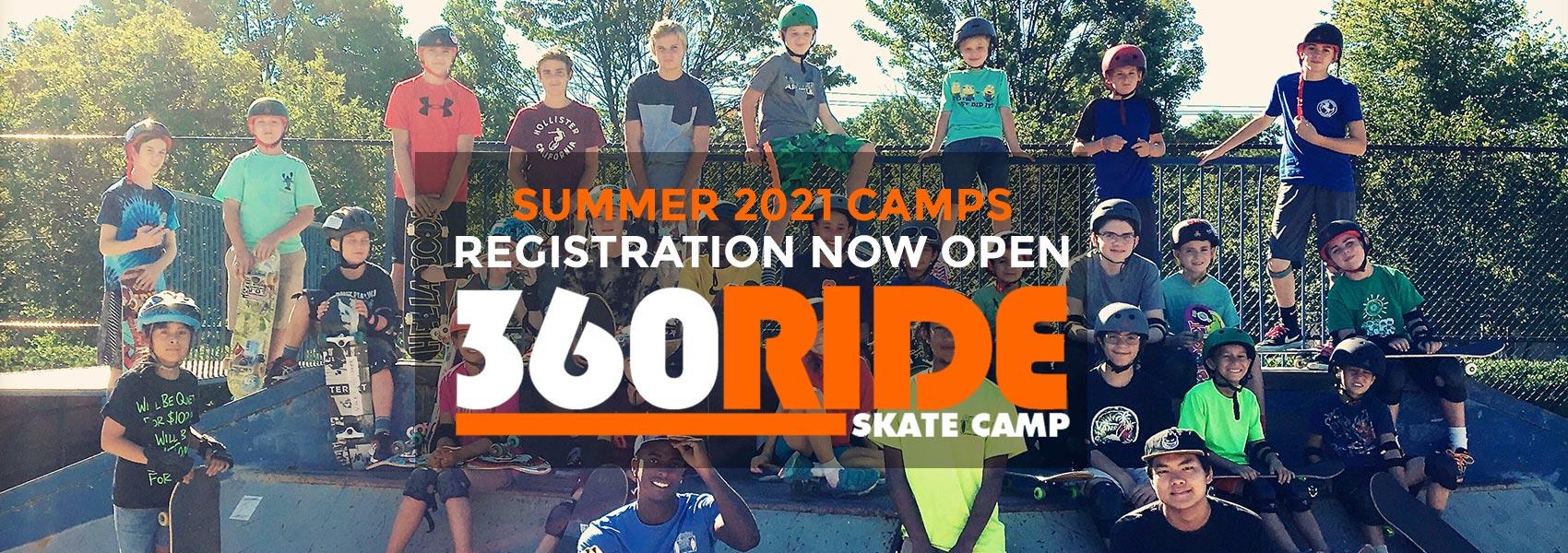 Summer 2021 Skate Camp